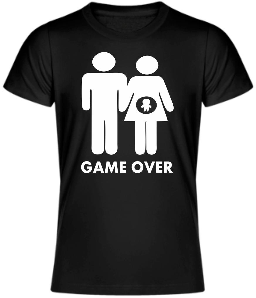 Tričko pro budoucí tatínky a maminky - Game over d61229e563