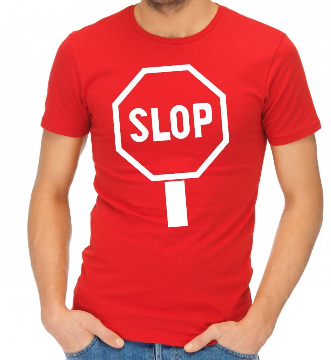 dadaeb2cca4 Značkové tričko se značkou - SLOP