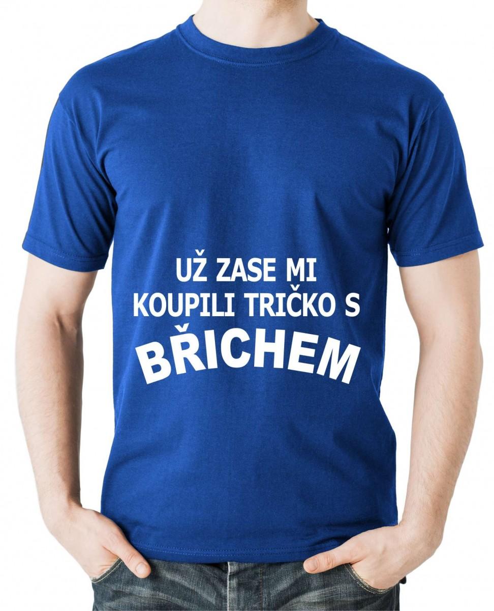 502e4d6b455f Tričko s břichem - Už zas mi koupili tričko s břichem ǀ Fajntričko.cz