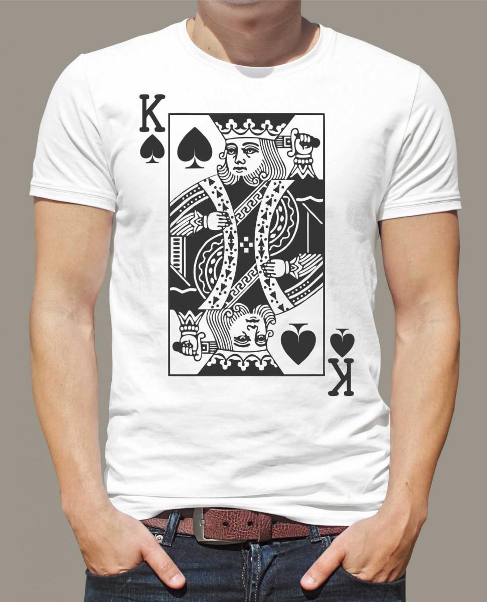 Tričko - King - Královská karta ǀ Fajntričko.cz de2f087bd0