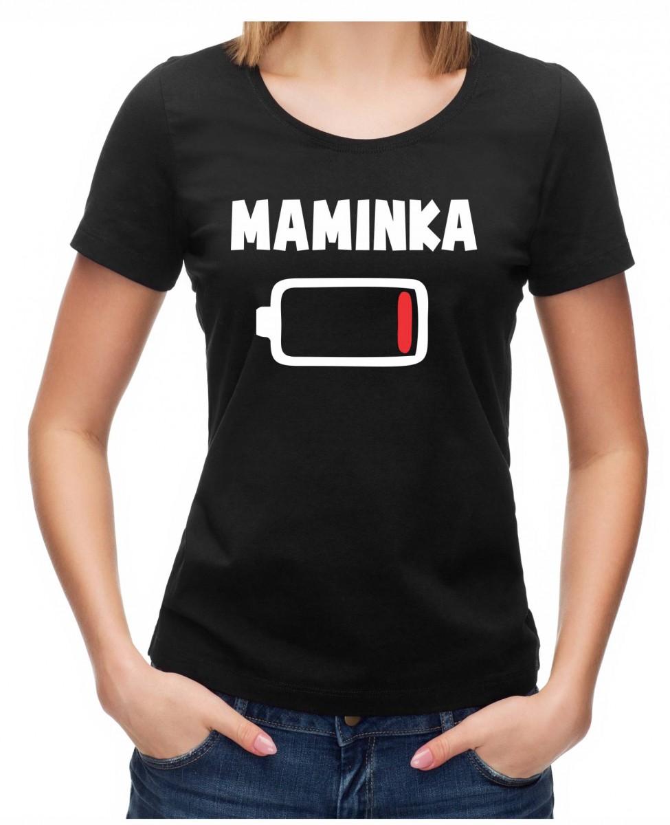 131ff82fd02 Rodinné tričko - Maminka (BATERKA) ǀ Fajntričko.cz