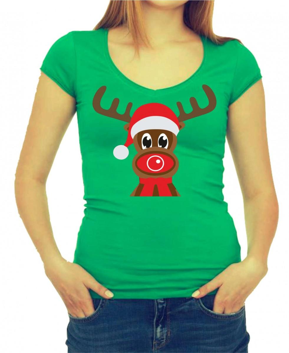 Vipné Vánoční tričko - Vánoční Sobík. ǀ Fajntričko.cz 404dfa835a