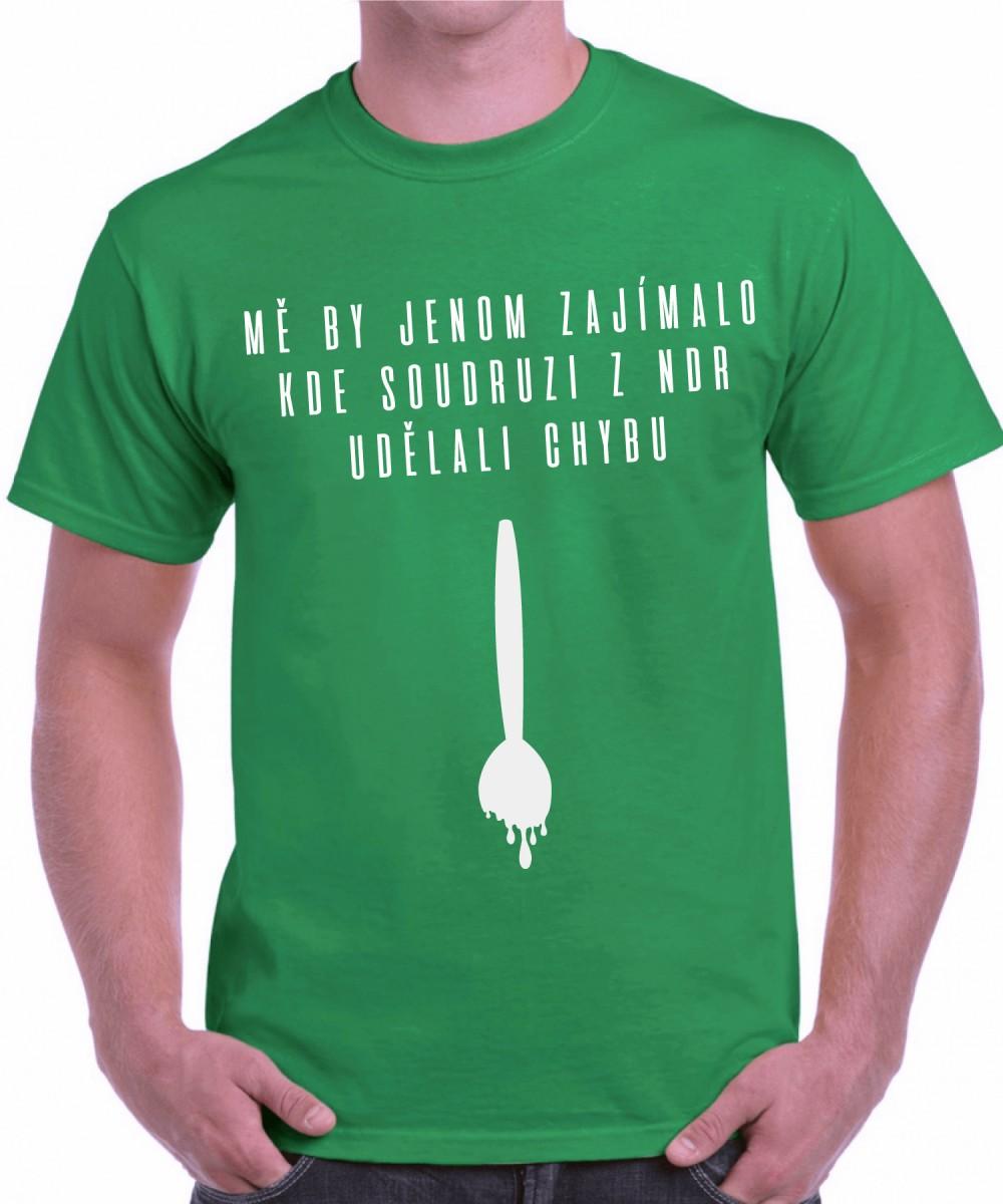 Vtipné a originální vánoční tričko - Kde soudruzi z NDR udělali ... 26b81598dc