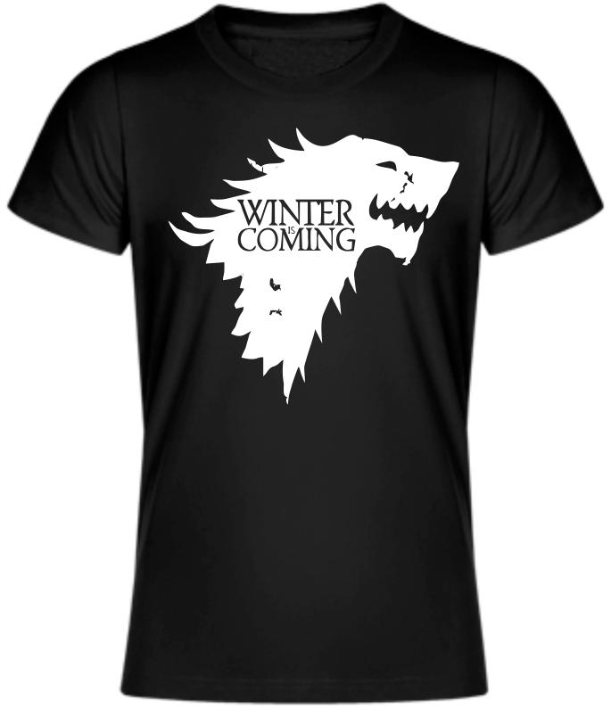 58f4cd4b95d Tričko Winter is Coming