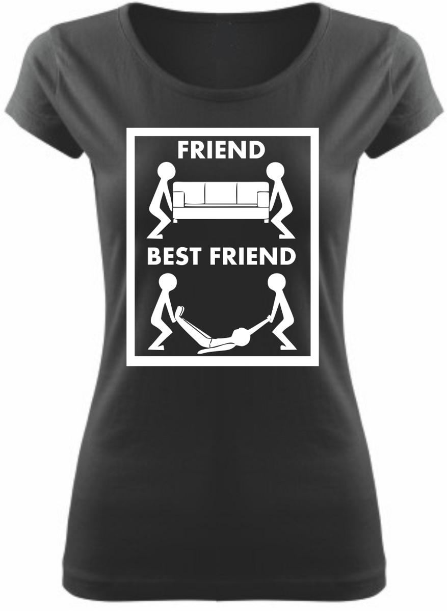 7e5b3e1d2bc Originální tričko Best friend - Nejlepší kamarát