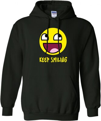 Mikina - Keep smiling UNISEX