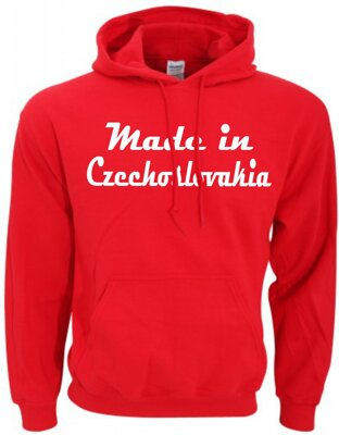Mikina - Made in Czechoslovakia