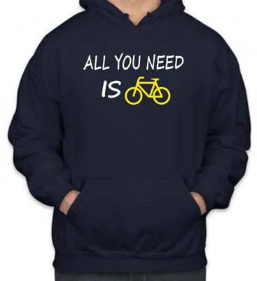 Mikina - All you need is bike