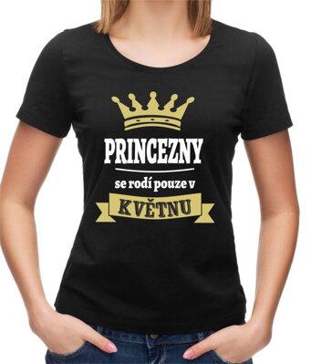 474cf82739ea Dámské tričko -Princezny se rodí pouze v ... (zvolte měsíc)