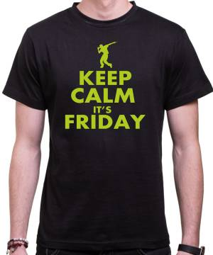 Tričko KEEP CALM IT'S FRIDAY