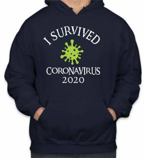 Mikina - I survived CORONA 2020