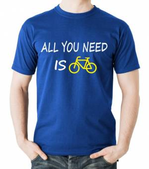 Tričko - All you need is bike